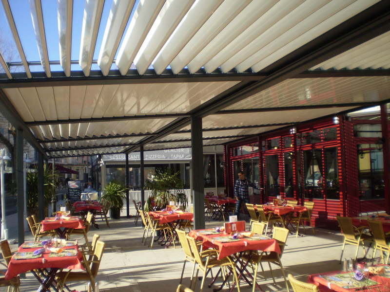 Toldos terrazas bares toldos de la fuente - Toldos pergolas para terrazas ...