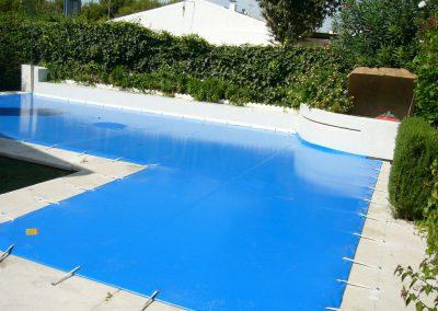 cobertor de piscina rectangular