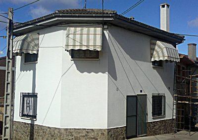 toldo cofre casa