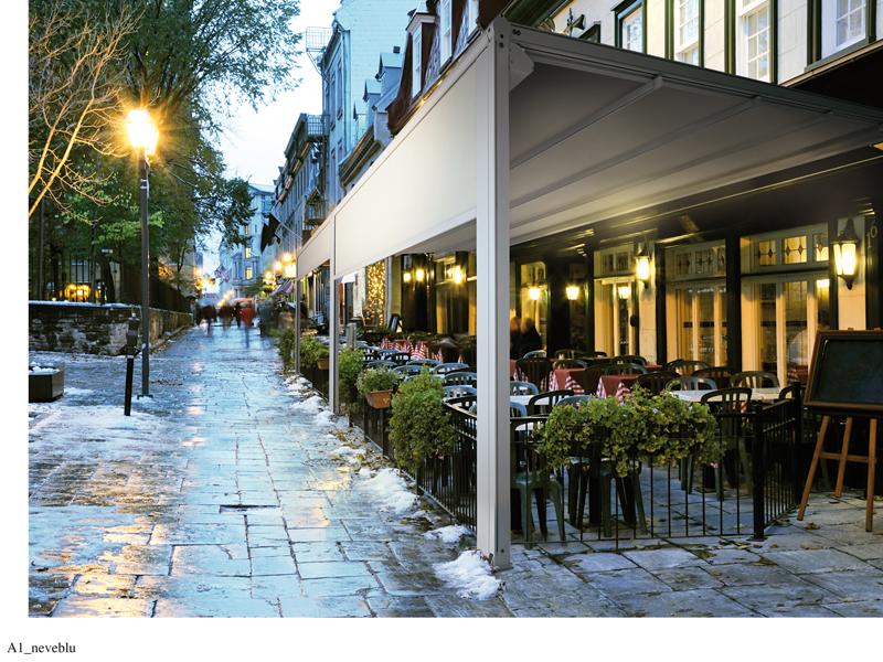 toldo de terraza bar