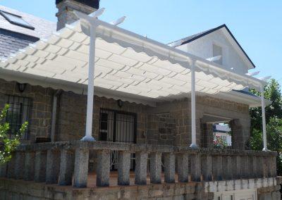toldo terraza casa